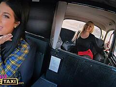 Female Fake Taxi Orgasmus