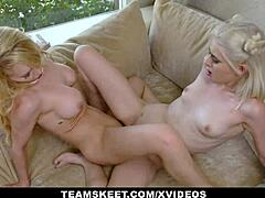Dyked - beautiful milf alix lynx teaches curious straight girl jessie saint how to eat pussy